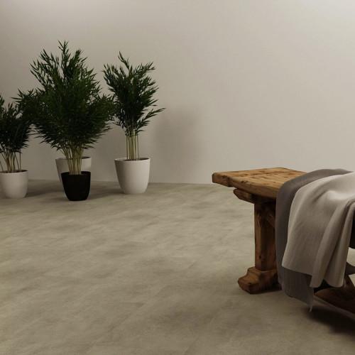 Ultrasurface Luxury Vinyl Plank Stone Look SPC Flooring 18''x24'' 4.0mm/0.3mm Easy Clean
