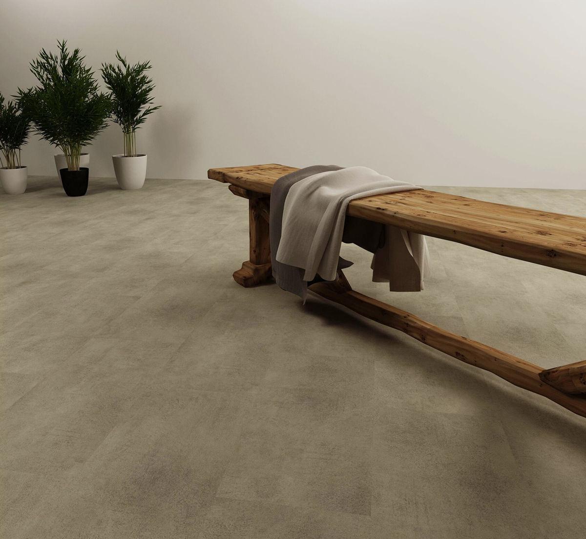 luxury vinyl plank stone look