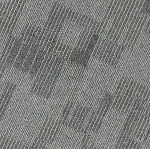 Ultrasurface Waterproof Vinyl Tile Flooring Carpet Look 24''x24'' 4.2mm/0.3mm