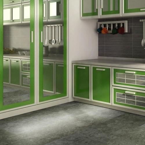 Ultrasurface 3mm Vinyl Floor Tiles 12''x24'' 3.0mm/0.2mm Ideal for Kitchen