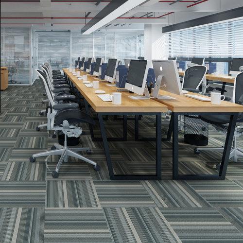 Ultrasurface Luxury Vinyl Plank Carpet Look SPC Flooring 18''x24'' 4.0mm/0.3mm Easy Clean