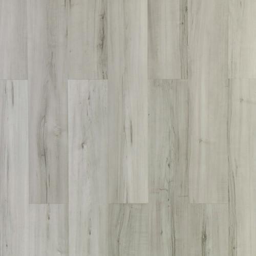 Ultrasurface White Loose Lay Vinyl Flooring Quick Installation PVC Flooring 9''x48'' 5.0mm/0.5mm