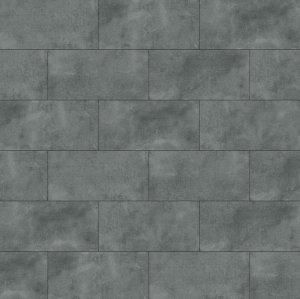 Ultrasurface Rigid Core Vinyl Tile Flooring Cement Ash Look Anti Slip UCT 6001