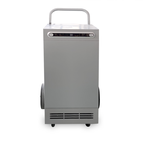 90L commercial portable dehumidifier wholesale, all metal plate body, big wheel, 230v 60hz| SoonDry