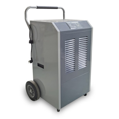 138L large portable dehumidifier commercial use for home, warehouse, basement | SoonDry