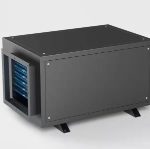 210 pints per day overhead industrial dehumidifier for greenhouse, ceiling mounted | SoonDry