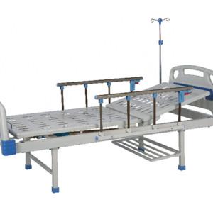 Manual hospital bed-single rocker