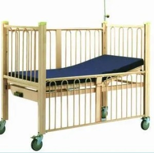 Single Crank Hospital Child Bed (D-5)