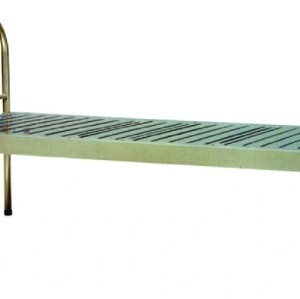 Whole Stainless Steel Hospital Bed