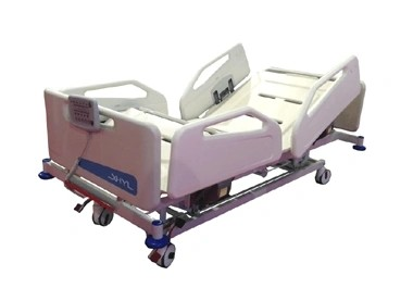 Five Functions Electric Hospital ICU Bed with ABS Platform