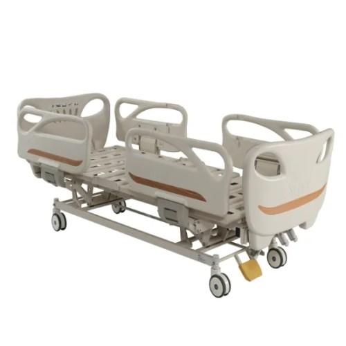Three Cranks Hi-Low Adjustable Manual Hospital Medical Bed