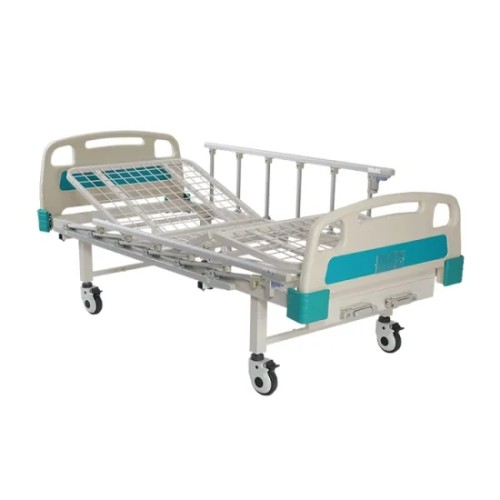 Mesh Type Two Cranks Manual Hospital Patient Care Bed