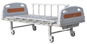 Single Crank Mechanical Hospital Medical Bed