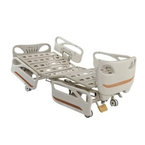 Manual Hospital Bed with New Side Rails
