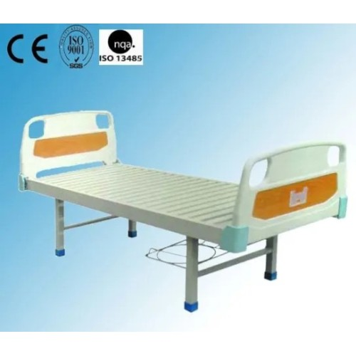 Steel Painted Material Hospital Flat Bed (B-7)