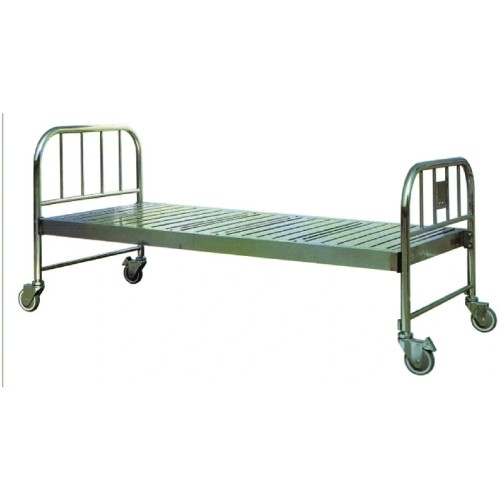 Stainless Steel Hospital Medical Flat Beds (C-3B)