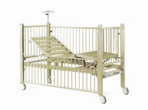 Two Cranks Manual Medical Children Bed (XH-F-6)