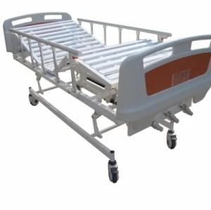 2021 Latest Model Three Cranks Manual Medical Bed