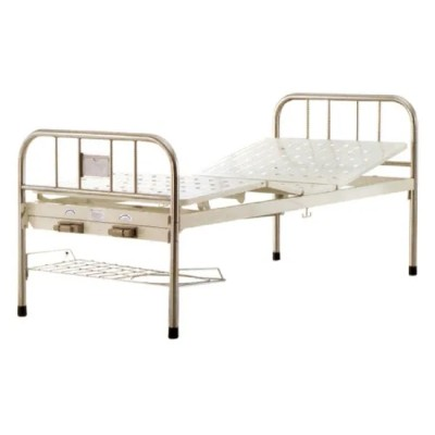 Two-Rocker Manual Medical Bed with Fixed Legs