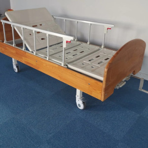 Good Quality Hot Product Manual Three Function Hospital Patient Bed