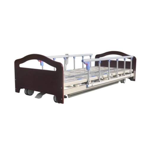 High Quality Mechanical Wooden Hospital Bed