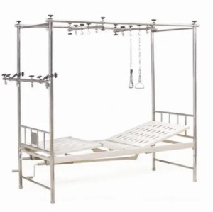 Stainless Steel Manual Orthopedic Traction Bed, Two-Crank (XH-E-4)