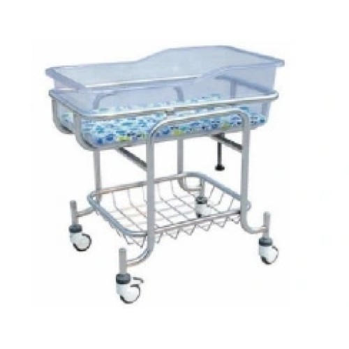 Stainless Steel Hospital Baby Bed, Infant Bed