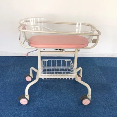 Steel Painted Medical Infant Bed