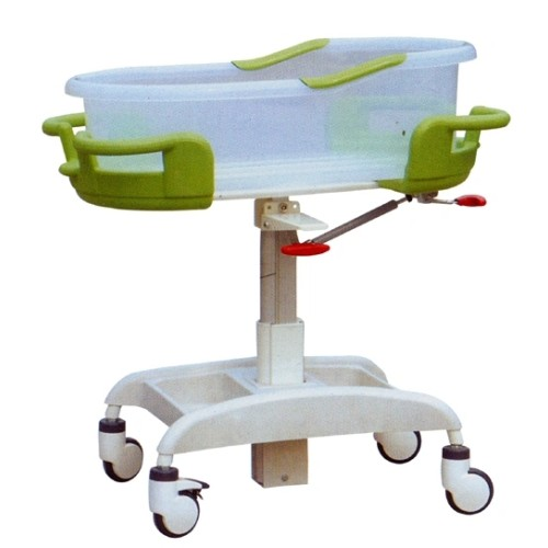 Portable Acrylic Material Hospital Infant Bed with Scale
