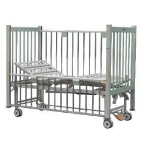 Two Cranks Manual Hospital Pediatric Bed (A)