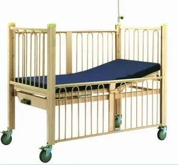 CE/FDA Certified Stainless Steel Flat Hospital Children Bed