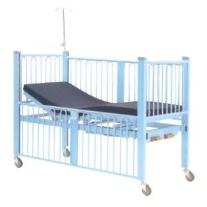 Double Crank Manual Paediatric Bed
