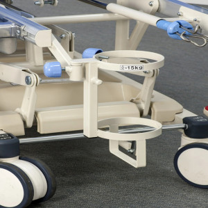 CE FDA Approved Manual Hospital Patient Transfer Trolley, Trauma Trolley (A)