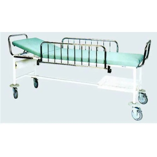 Epoxy Powder Coated Frame Hospital Patient Transfer Trolley (G-3)