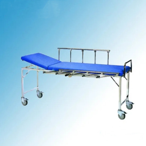 Stainless Steel Frame Patient Transfer Trolley (G-5)