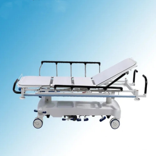X-ray Transparent Hydraulic Emergency Stretcher