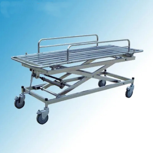 Stainless Steel Height Adjustable Patient Transfer Stretcher (G-6)