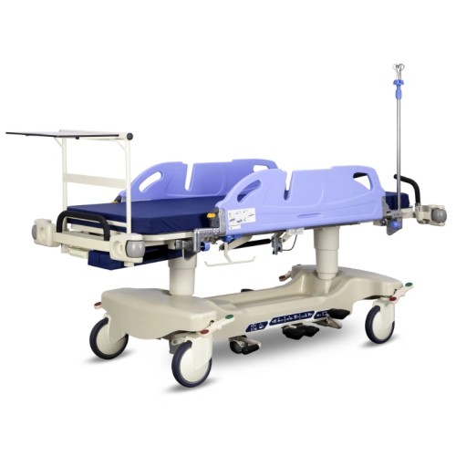 X-ray Transparent Five Function Hydraulic Hospital Medical Patient Stretcher