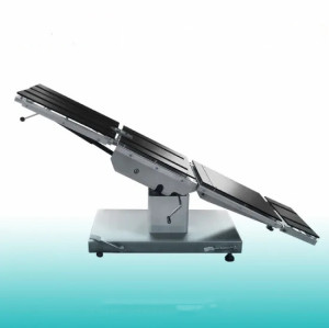 Stainless Steel Multi-Function Manual Surgical Hydraulic Operating Table