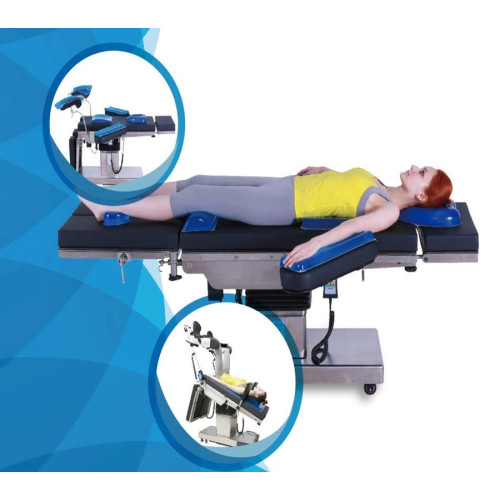 CE FDA Approved C-Arm Electric Operating Table, Radiolucent (A)