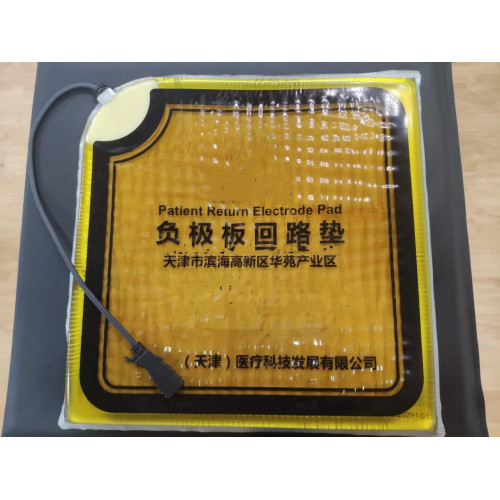 Patient Return Electrode Pad for Matching Operating Tables