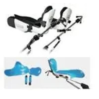 Lithotomy Stirrup Leg Holders/Stirrup Type Truncated Limestone Frame