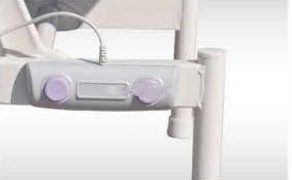 Electric Examination Couch with and Without Castors