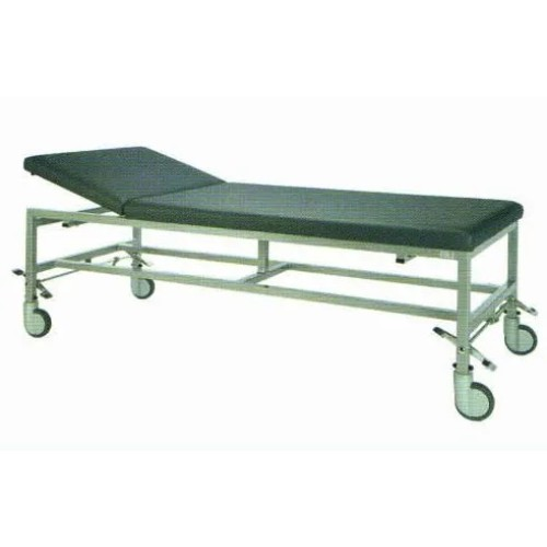 Physical Movable Steel Painted Medical Examination Bed