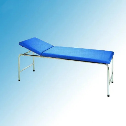 Steel Painted Examination Bed with Backrest Adjustable (I-2)