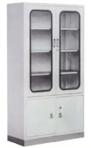 Cabinet for Instrument with Stainless Steel Base