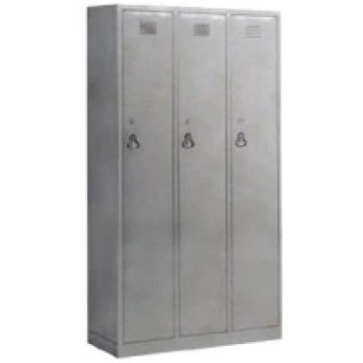 Stainless Steel Hospital Wardrobe Cabinet