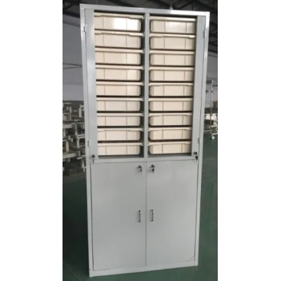 Medical Hospital Cabinet with ABS Medicine Cups