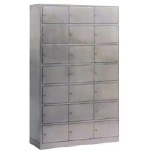 Stainless Steel Hospital Cabinet for Shoes Storage