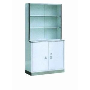 Steel Painted Hospital Medical Closet Wardrobe Cabinet (U-5)